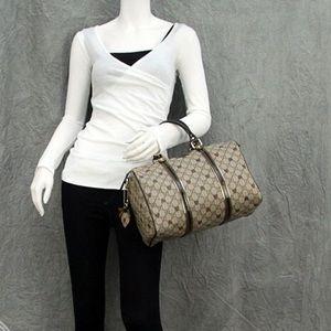 Gucci heart GG Boston bag. Good condition